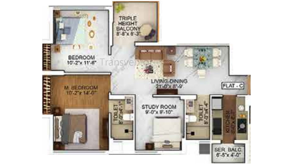 Merlin The One Floor Plan 5