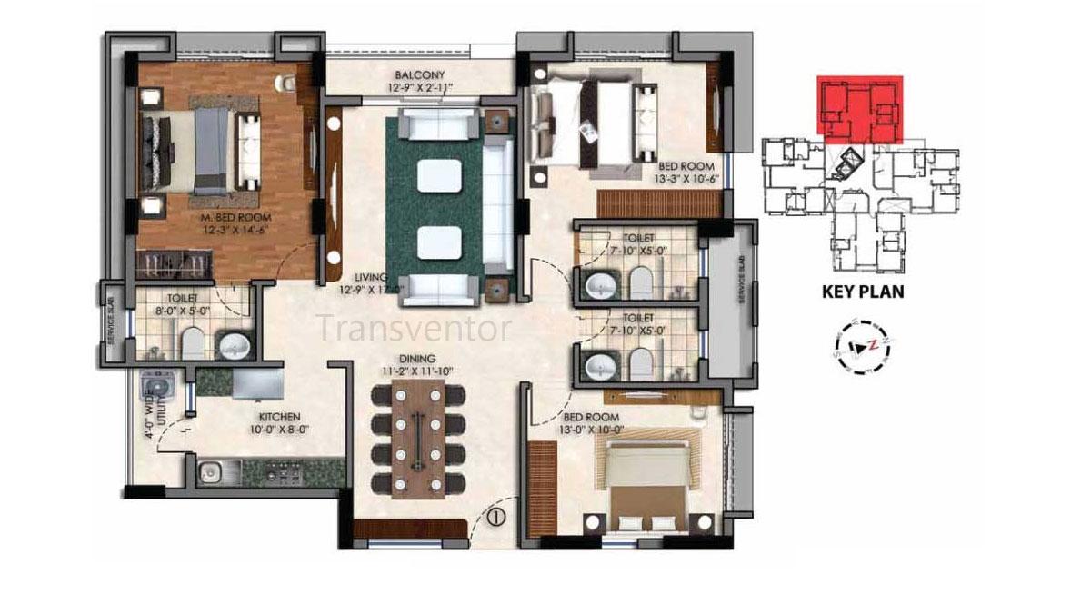 Swan Court Floor Plan 2