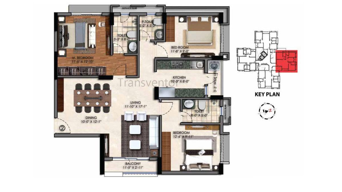 Swan Court Floor Plan 3