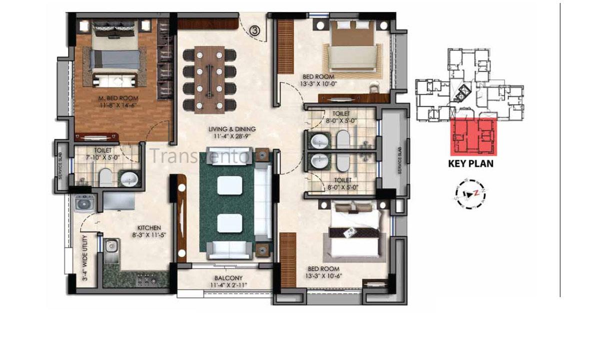Swan Court Floor Plan 4