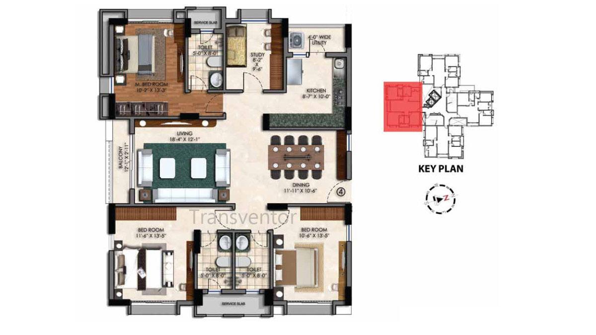 Swan Court Floor Plan 5