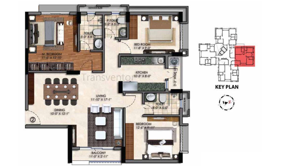 Swan Court Floor Plan 7