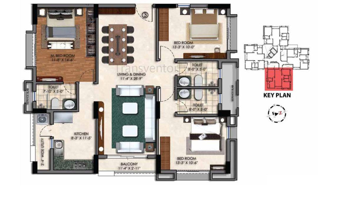 Swan Court Floor Plan 8