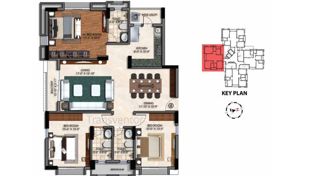 Swan Court Floor Plan 9