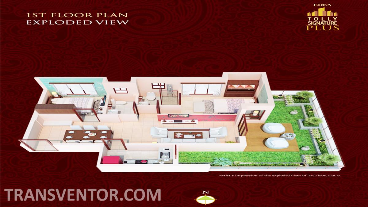 Eden Tolly Signature Plus Floor Plan 4