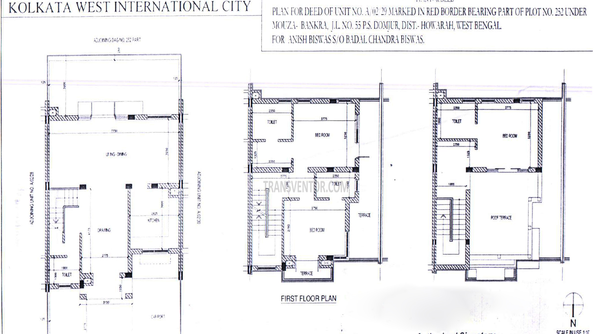 Kolkata West International City (KWIC) Floor Plan 4