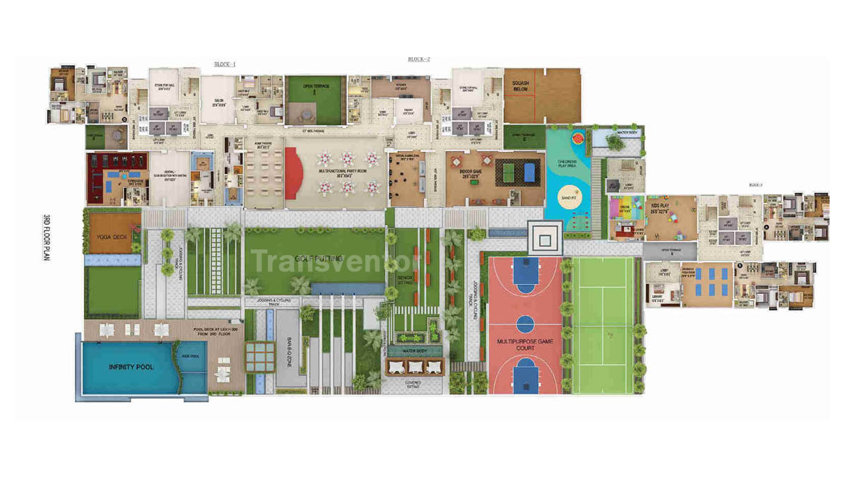 Merlin 5th Avenue Floor Plan 2