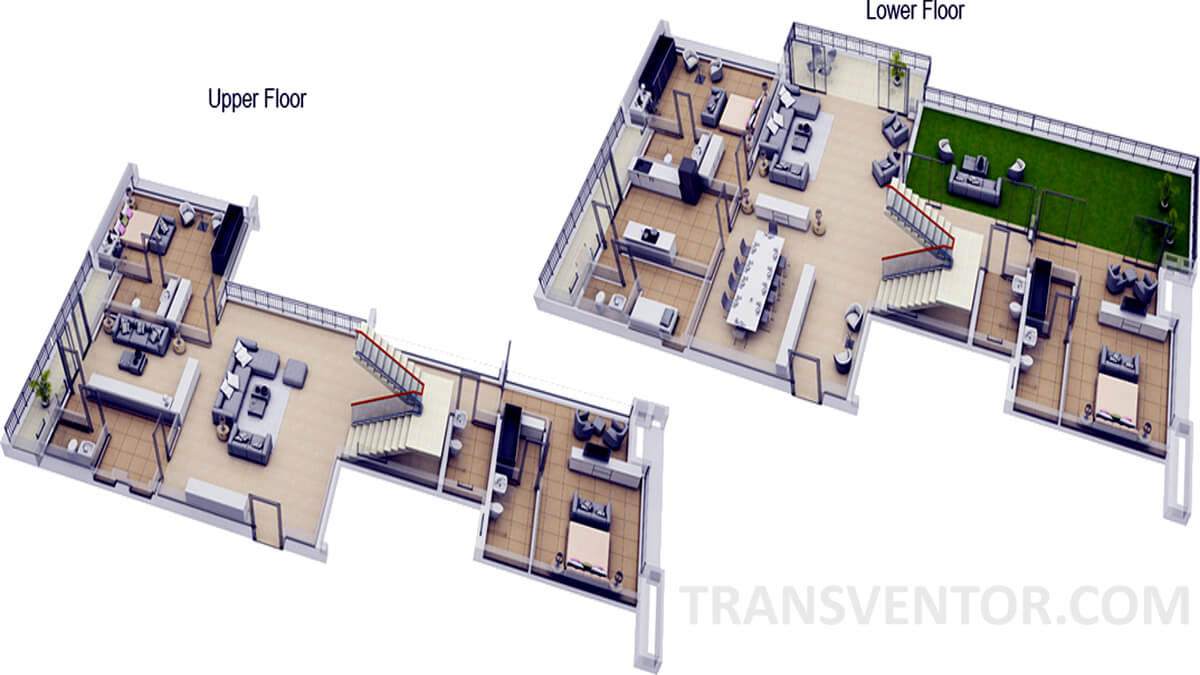 Ambuja Neotia Utalika Floor Plan 4