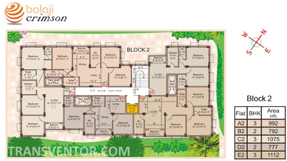 Balaji Crimson Floor Plan 2