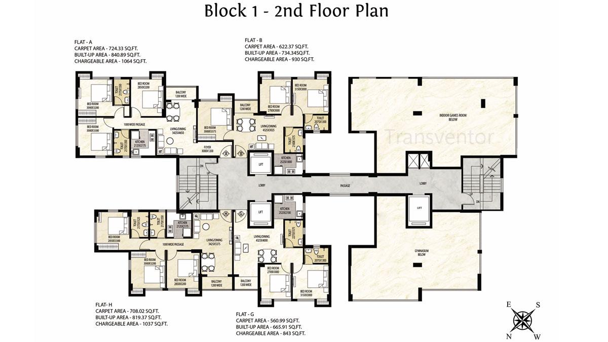 Rajat Avante Floor Plan 3