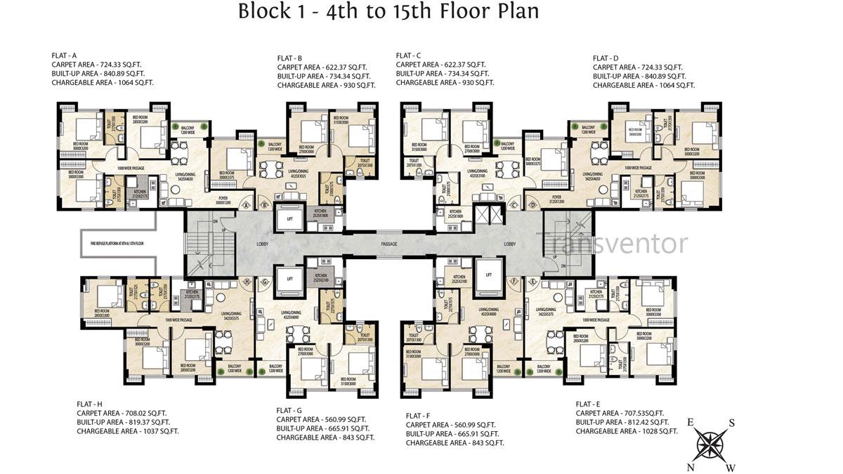 Rajat Avante Floor Plan 5