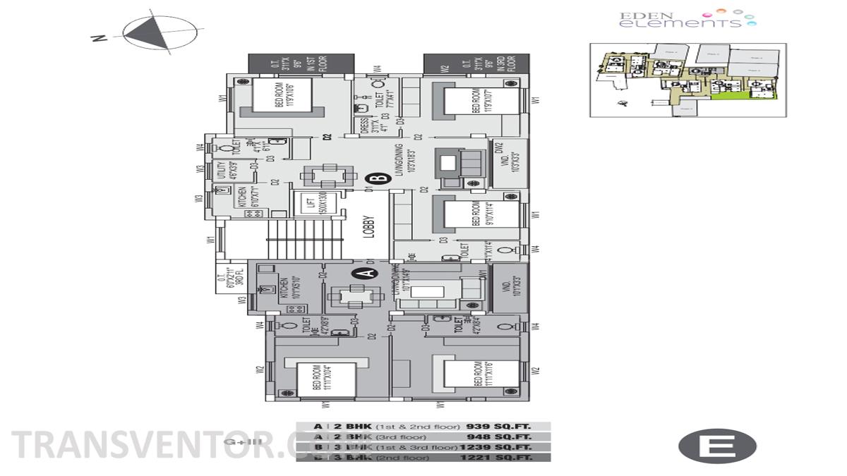 Eden Elements Floor Plan 1