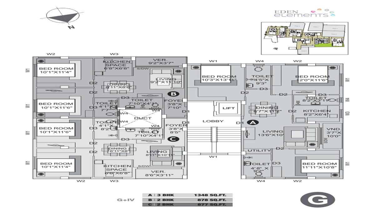 Eden Elements Floor Plan 3