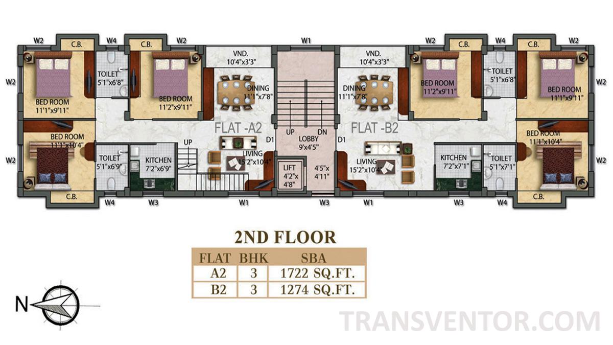 Eden Radiance Floor Plan 1
