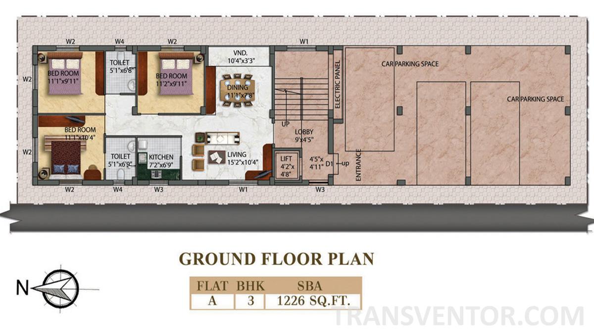 Eden Radiance Floor Plan 3