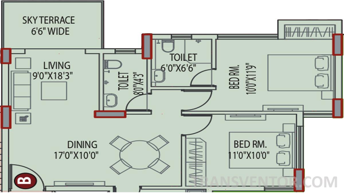 Eden Tolly Signature Plus Floor Plan 2
