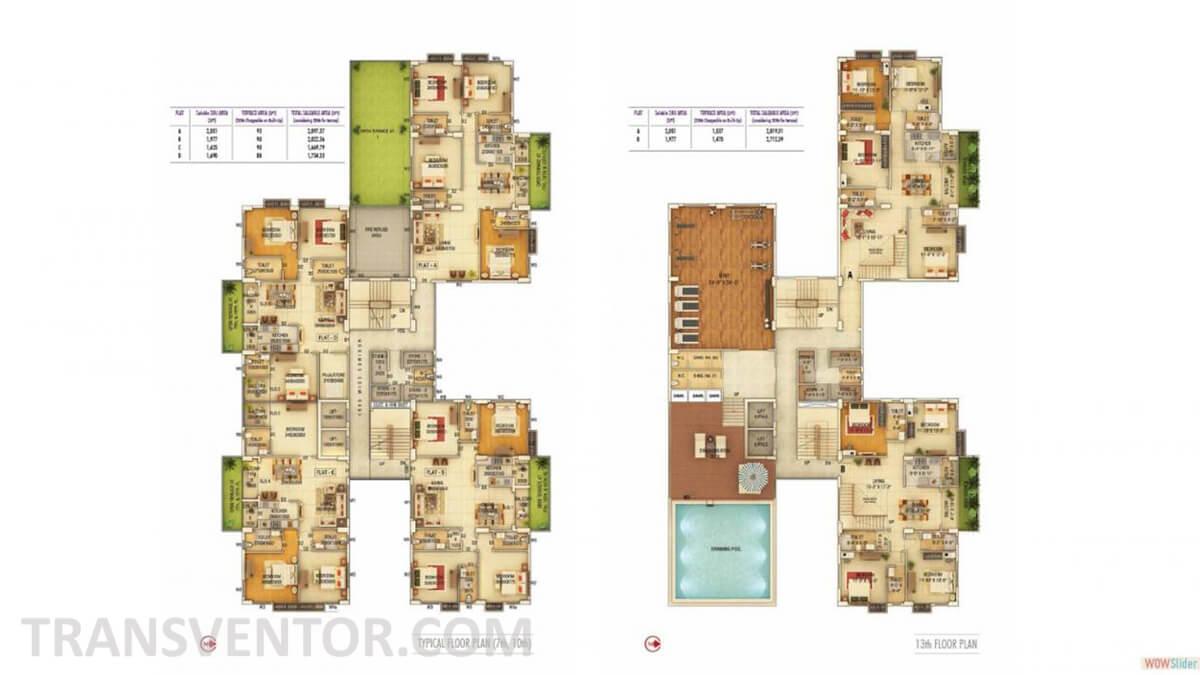 TRPL Elysium Floor Plan 1