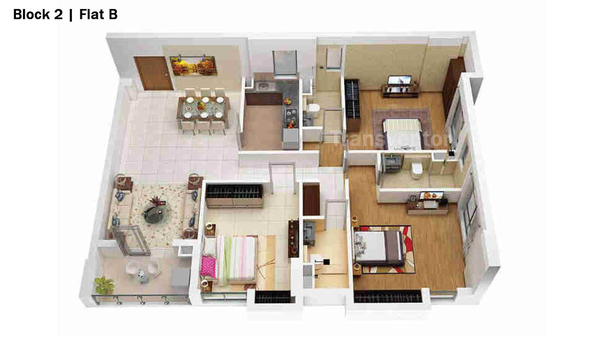 Merlin 5th Avenue Floor Plan 5