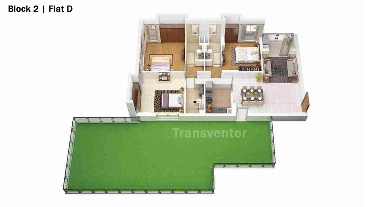 Merlin 5th Avenue Floor Plan 7