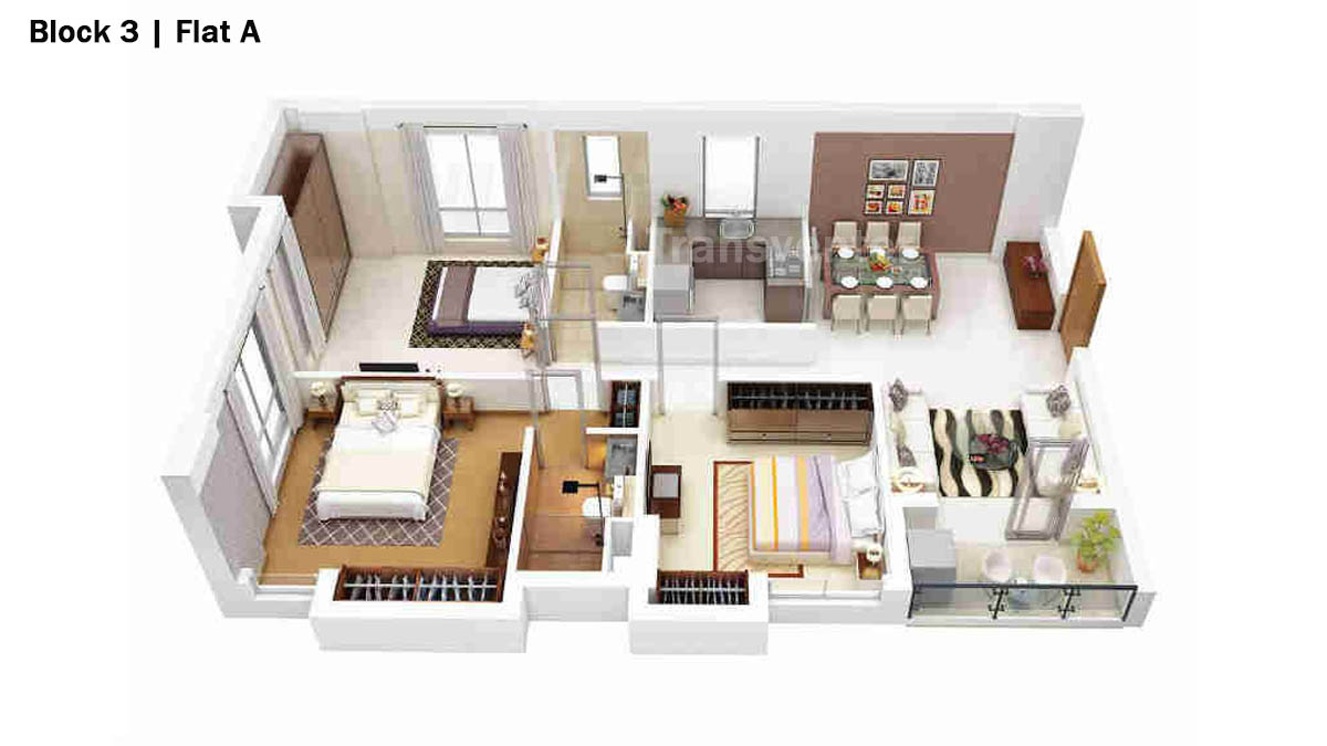Merlin 5th Avenue Floor Plan 11