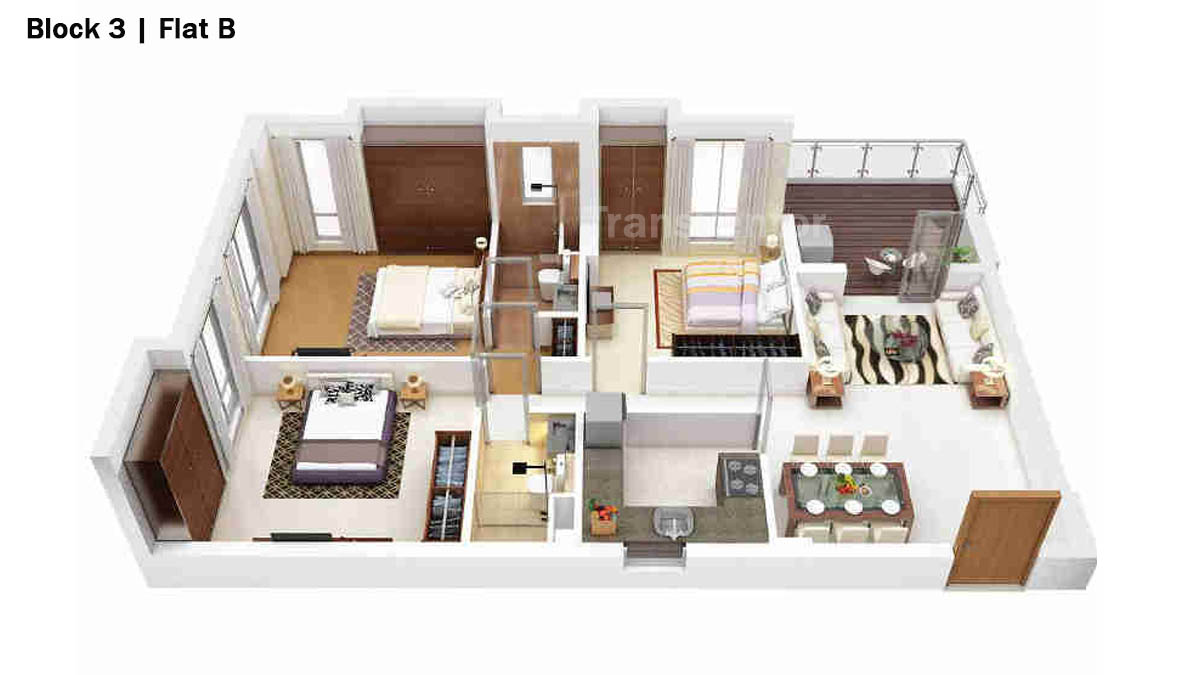 Merlin 5th Avenue Floor Plan 12