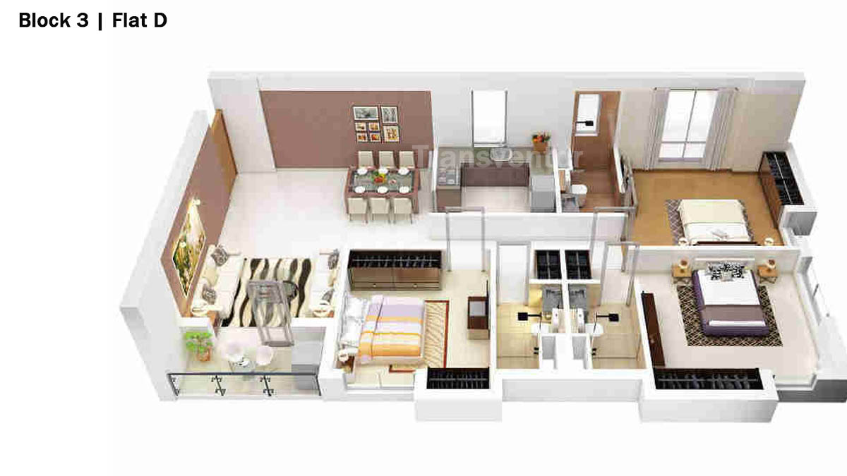 Merlin 5th Avenue Floor Plan 14
