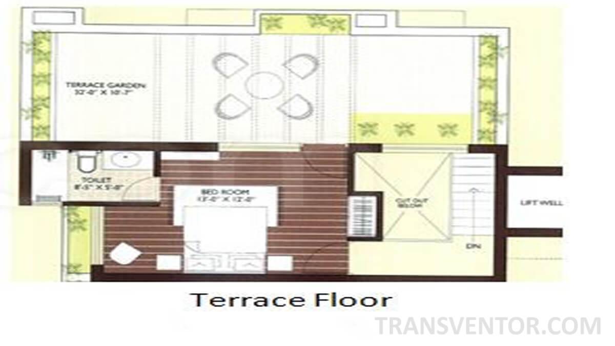Sanjeeva Town Bungalows Floor Plan 1