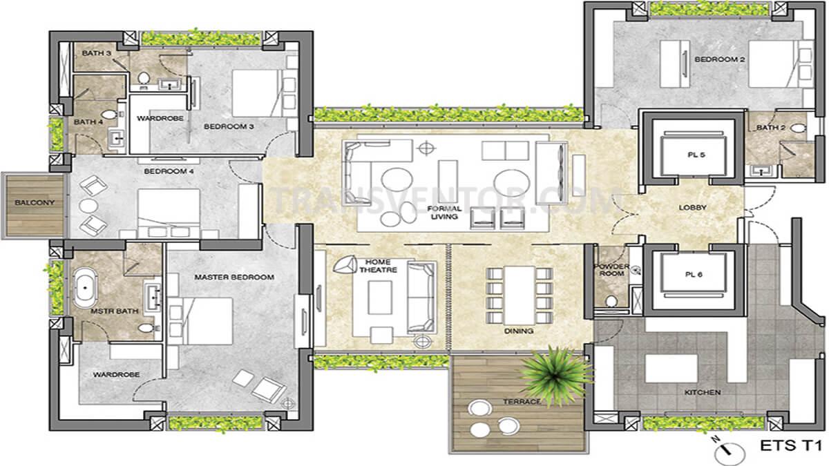 Forum Atmosphere Floor Plan 1