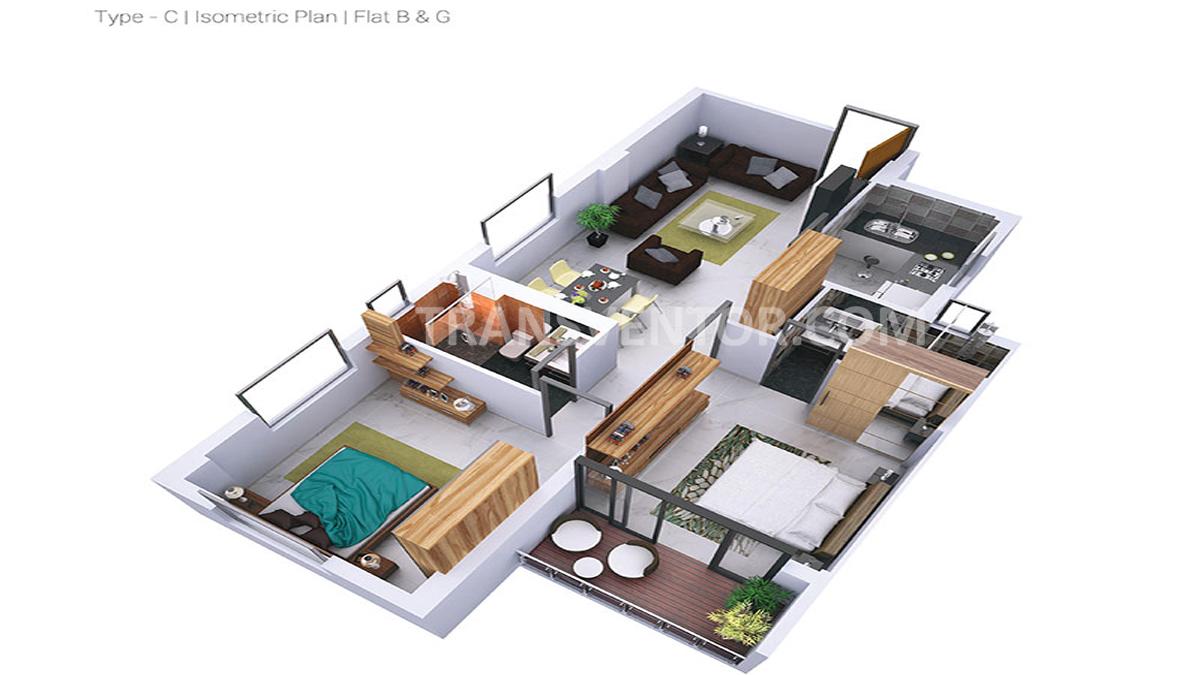 Greenfield City Floor Plan 1