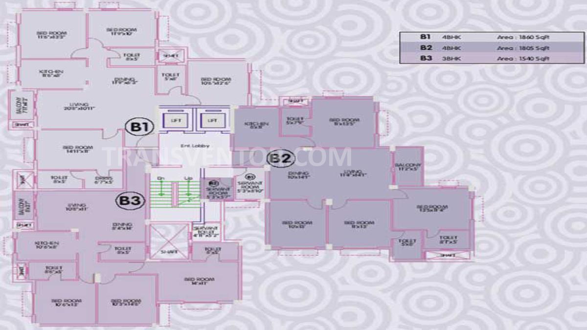 Ideal Enclave Floor Plan 2