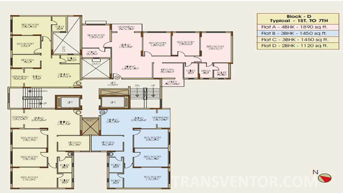 Ideal Niketan Floor Plan 3