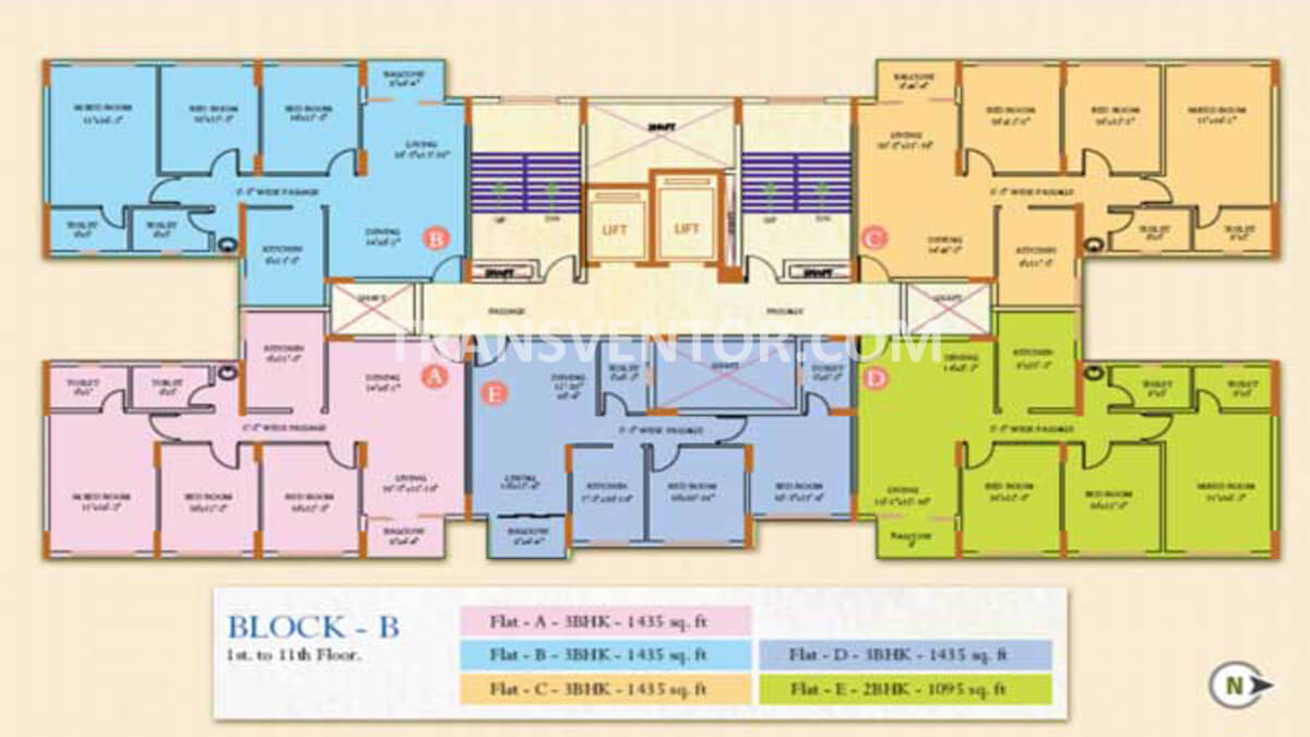 Ideal Regency Floor Plan 2