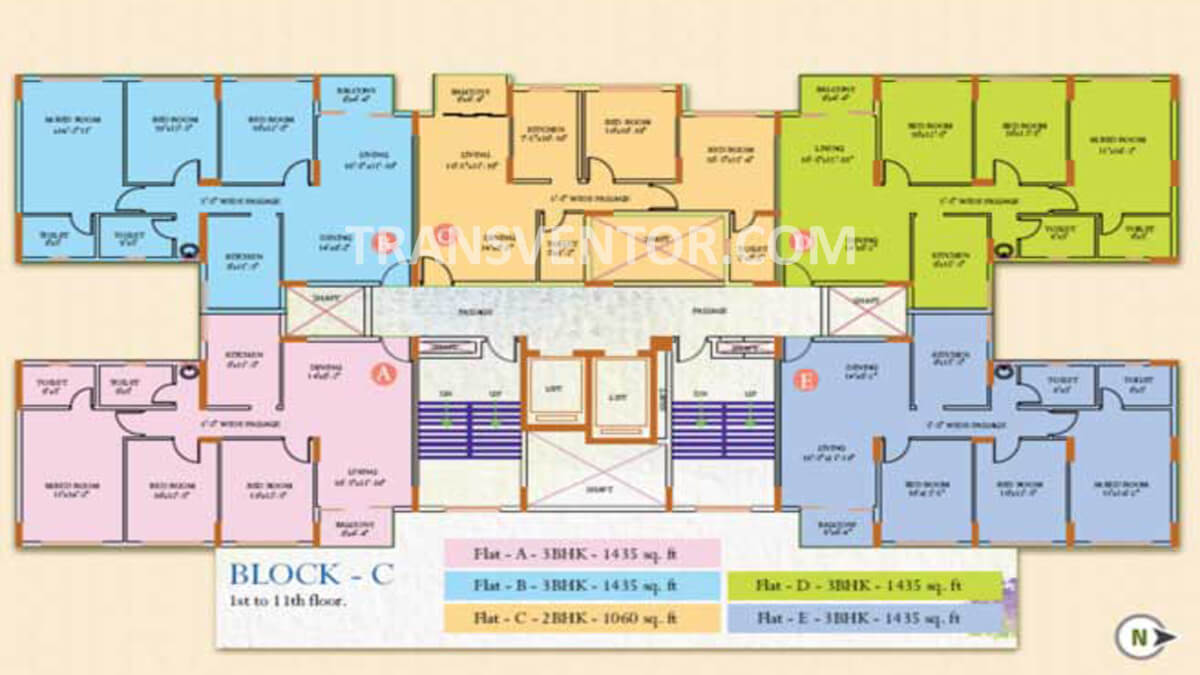 Ideal Regency Floor Plan 3