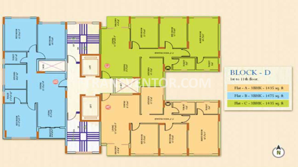 Ideal Regency Floor Plan 4