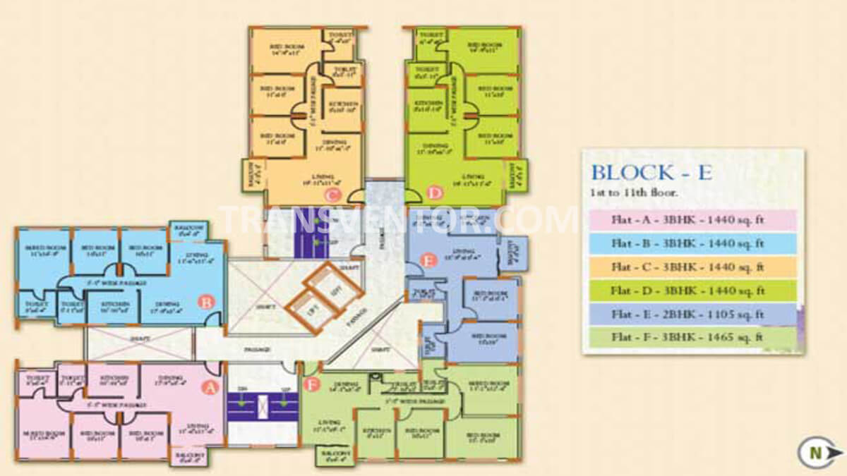 Ideal Regency Floor Plan 5