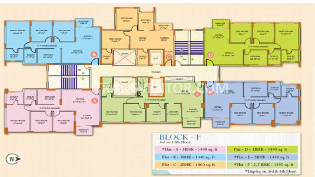 Ideal Regency Floor Plan 6