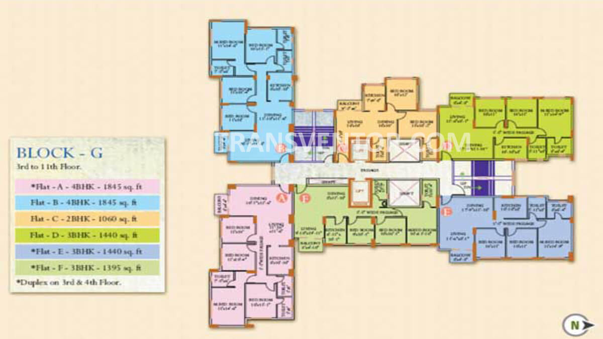 Ideal Regency Floor Plan 7