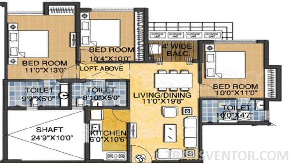 Madgul Antara Floor Plan 1