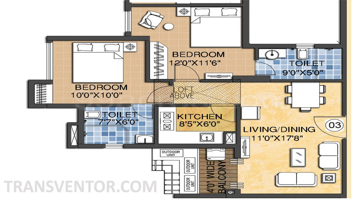 Madgul Antara Floor Plan 2