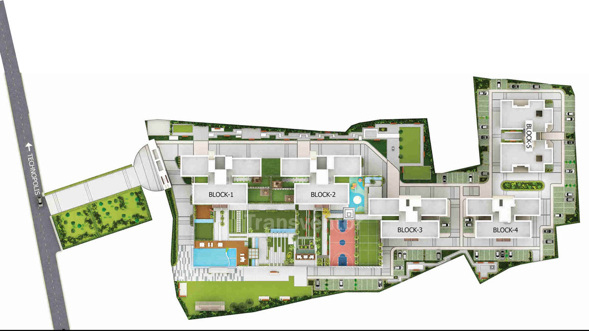 Merlin 5th Avenue Floor Plan 1