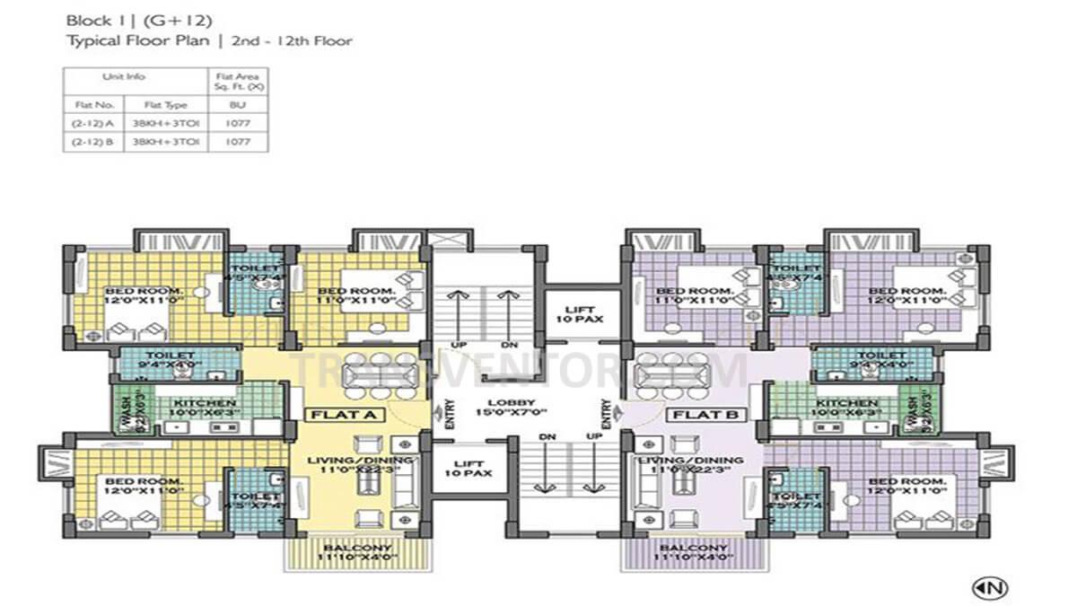 Merlin Iland Floor Plan 1