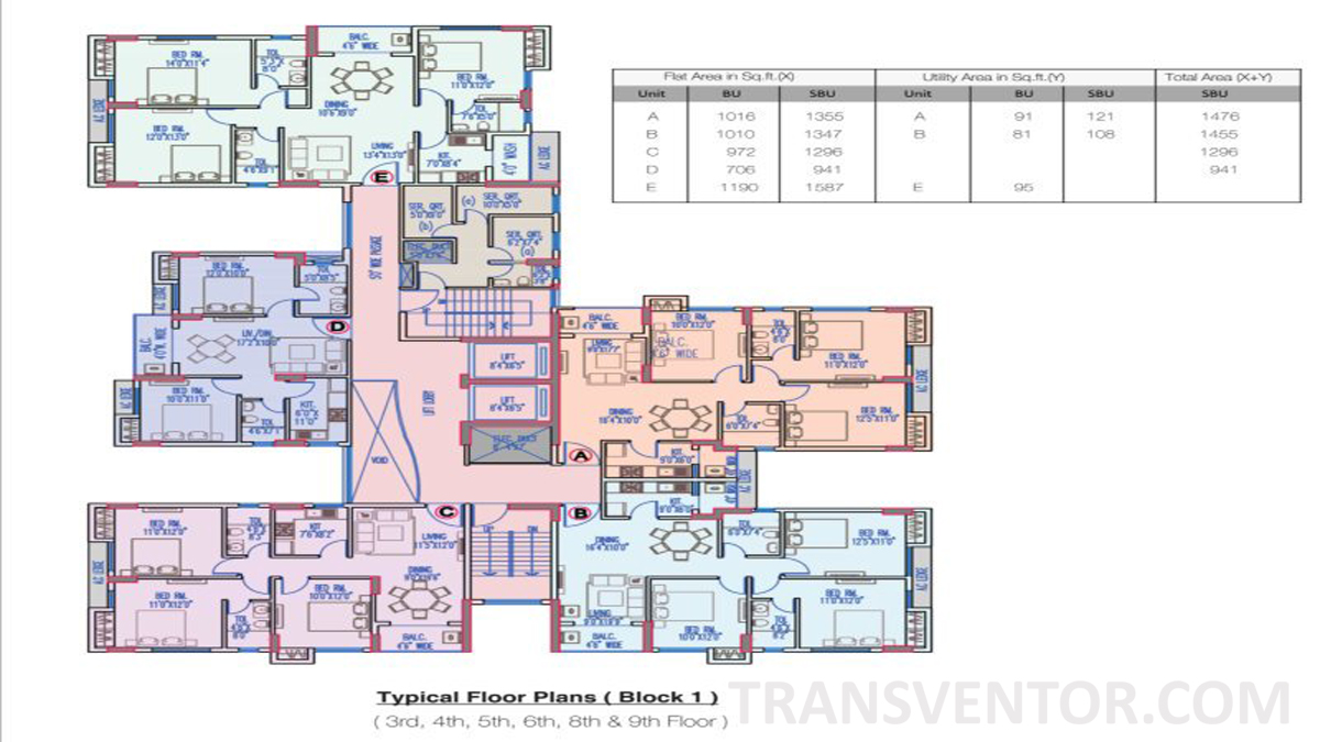 Merlin Legacy Floor Plan 2