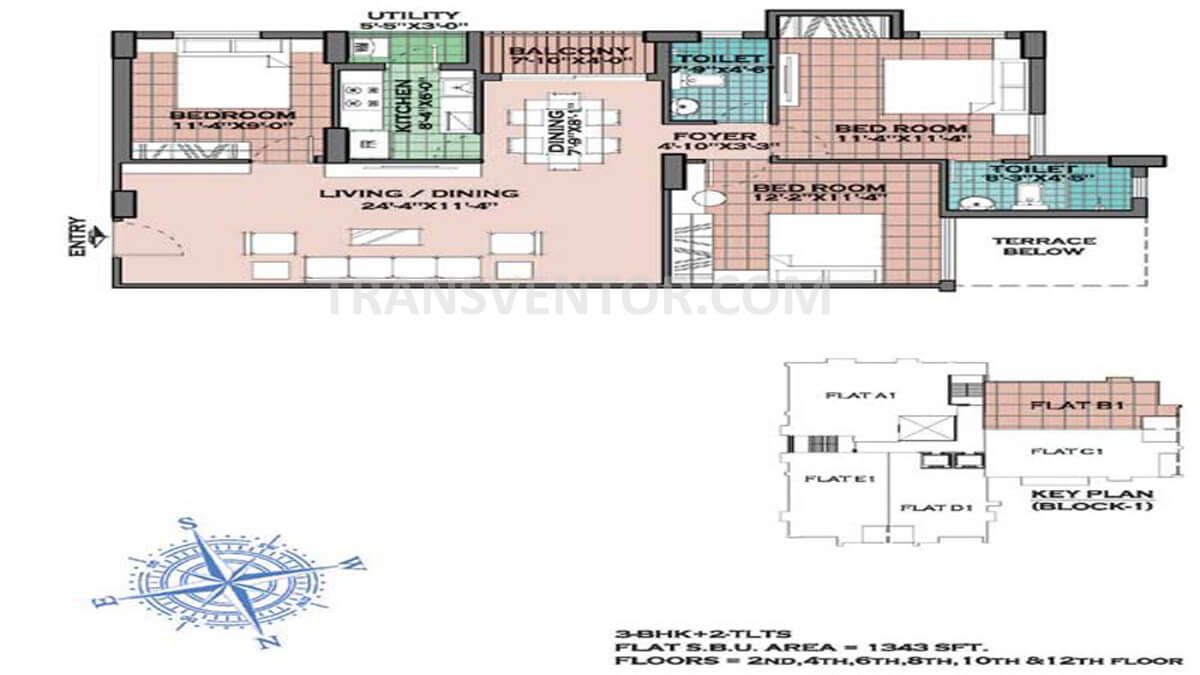 Merlin Regalia Floor Plan 2