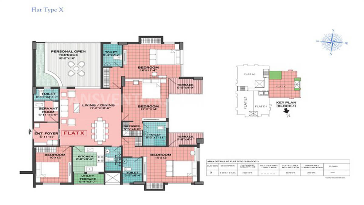 Merlin Regalia Floor Plan 4
