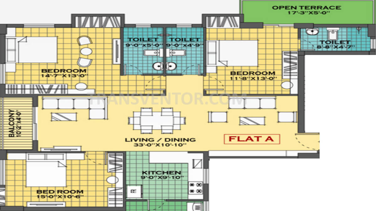 Merlin Regalia Floor Plan 3