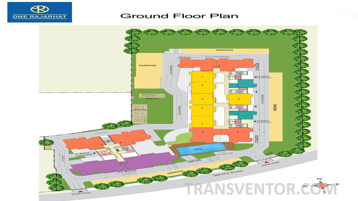 One Rajarhat Floor Plan 1