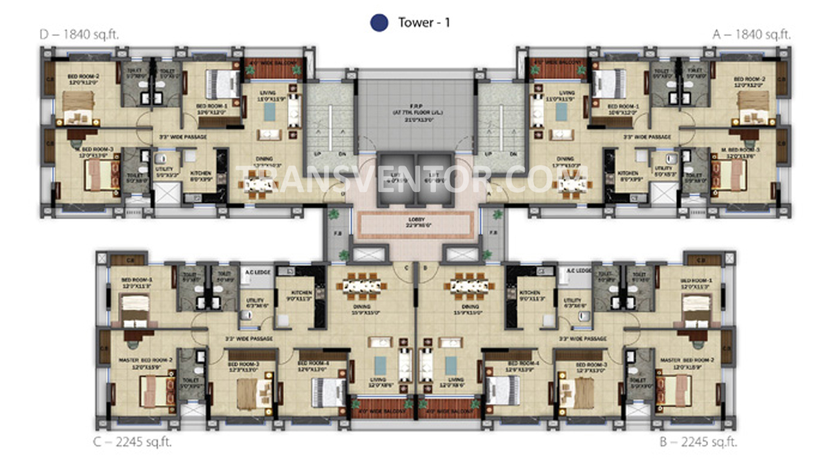 Orbit Ashwa Floor Plan 2