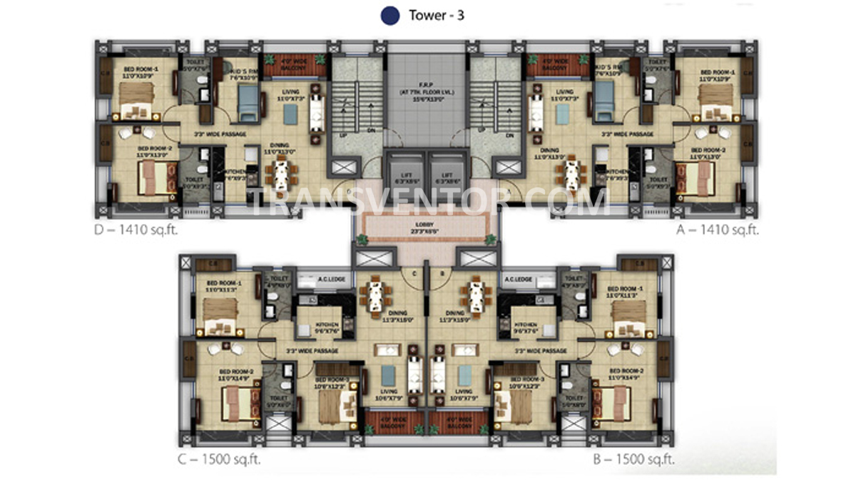 Orbit Ashwa Floor Plan 4