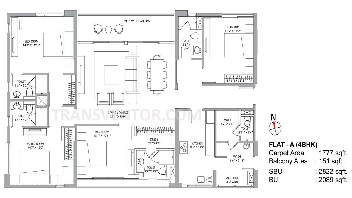 PS Aurus Floor Plan 2
