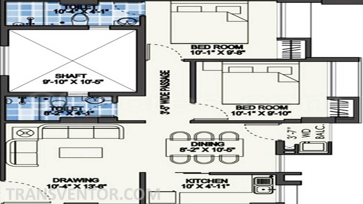 Purti Star Floor Plan 2